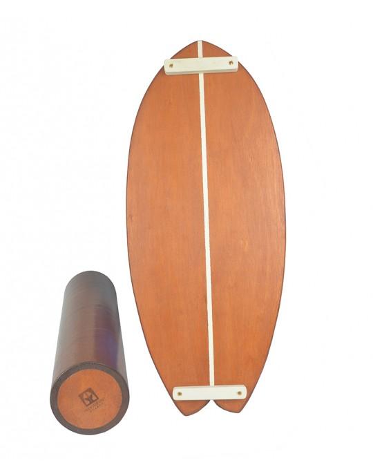 Prancha de Equilíbrio Wood Fish Madeira