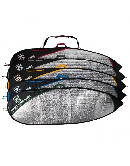 Capa Refletiva Térmica Prancha de Surf Fish 5'10'' - Wet Dreams