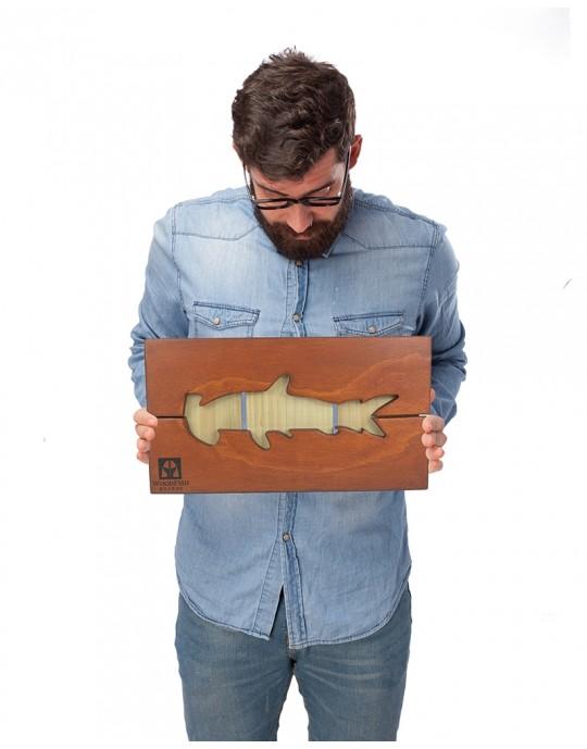 Quadro Decoração Tubarão Martelo