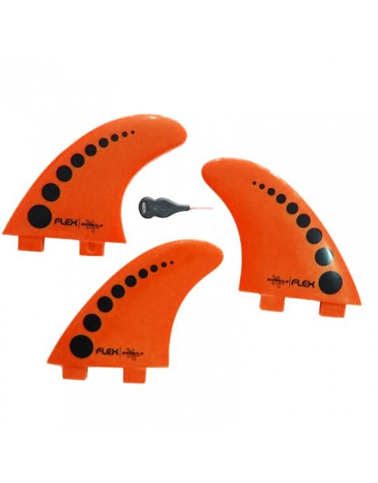 Quilhas Expans Flex Laranja