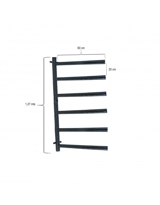 Rack Para 6 Pranchas Stand Up Paddle - Horizontal