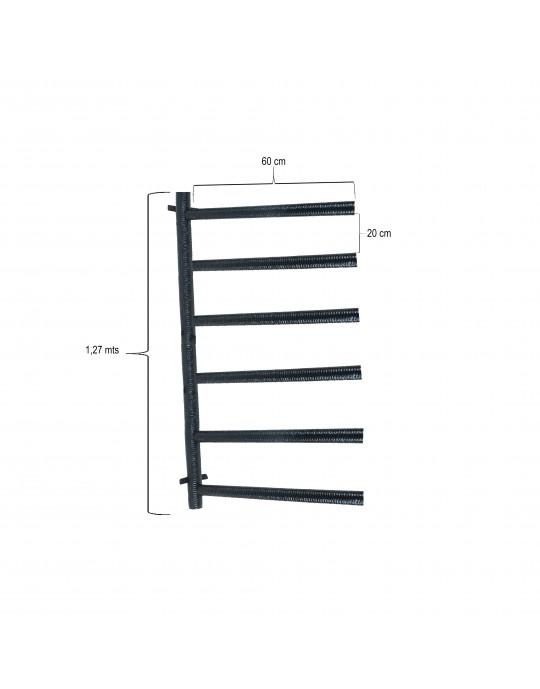 Rack Para 6 Pranchas Stand Up Paddle - Horizontal