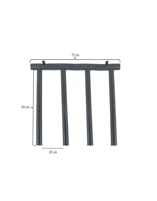 Rack Para 3 Pranchas Stand Up Paddle - Vertical