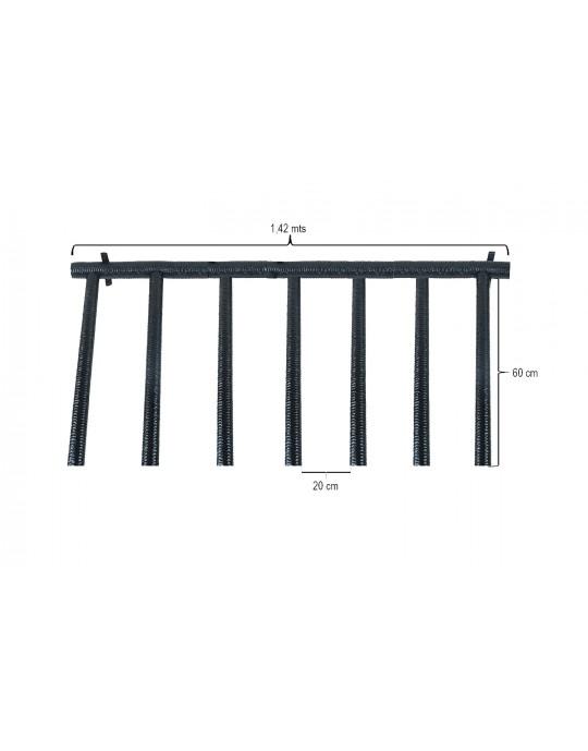 Rack Para 6 Pranchas Stand Up Paddle - Vertical
