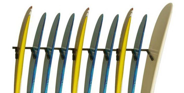 Rack Para 10 Pranchas Stand Up Paddle - Vertical   Prancharia