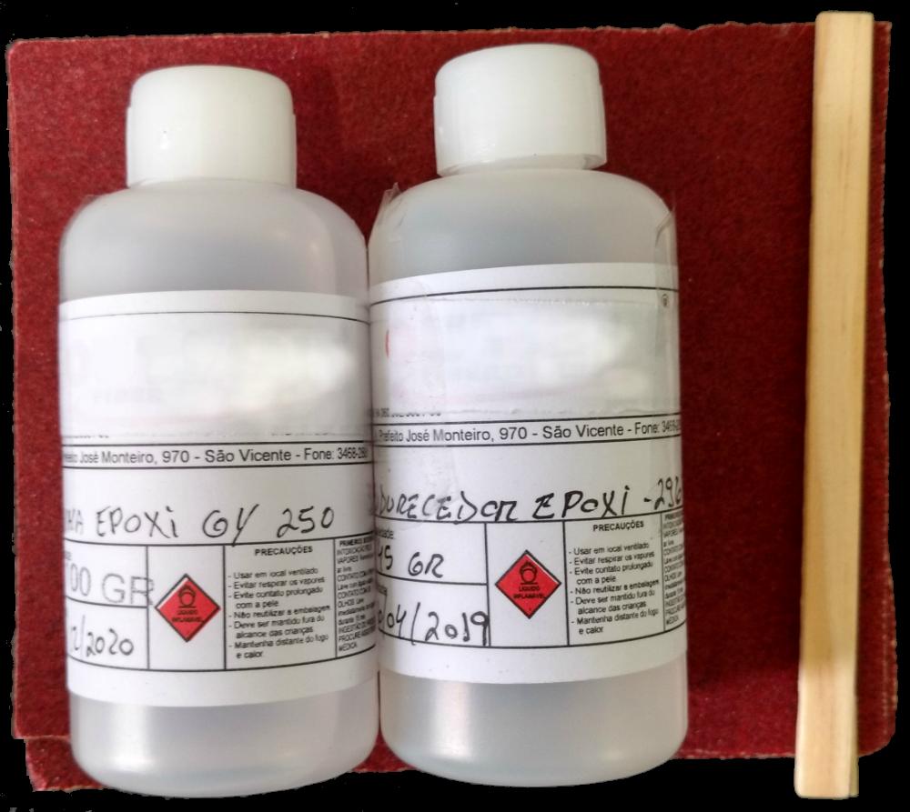 Kit conserto para pranchas de surf - Resina Epoxy - Bloco EPS-isopor