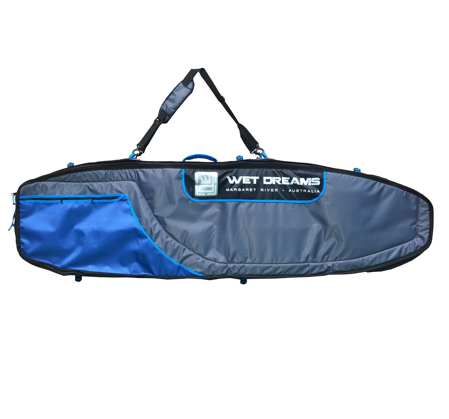 Sarcófago com rodinhas para 4 pranchas de Surf até 7'0'' - 2,13m - Wet Dreams | Prancharia