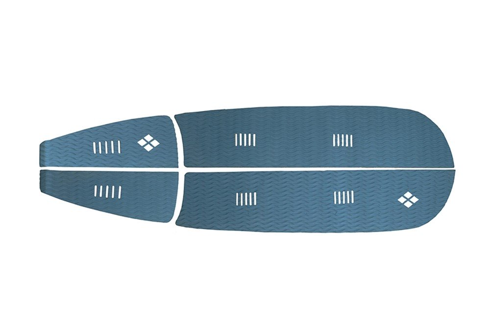 Deck Stand Up Paddle Rubber Sticky 6 mm Azul Marinho   Prancharia