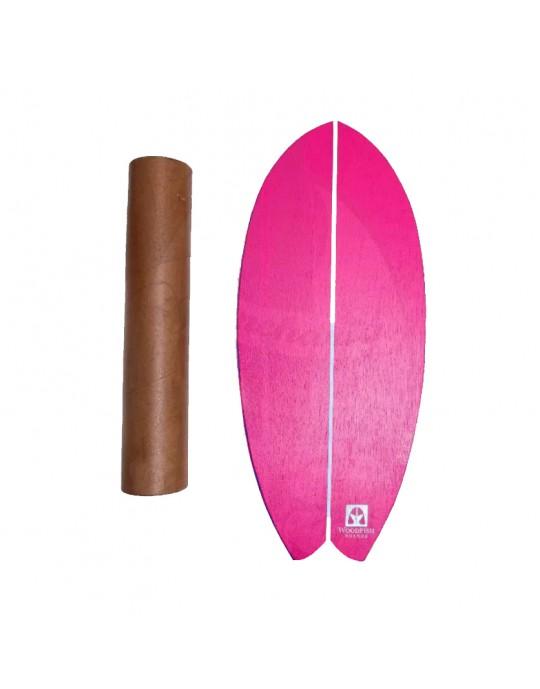 Prancha de Equilíbrio Wood Fish Rosa | Prancharia