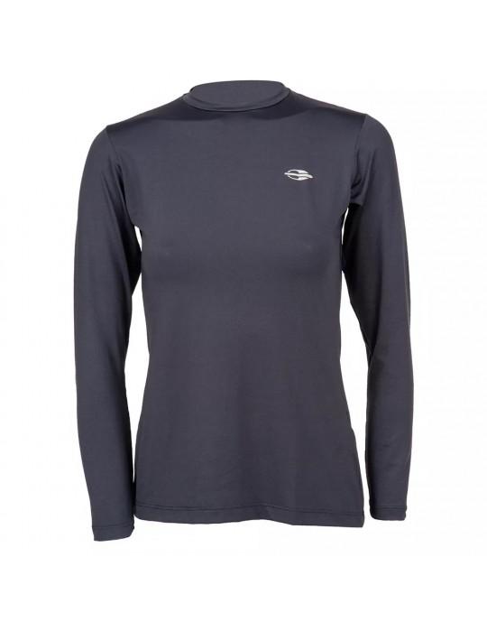 Camisa UV Dry Action Preta Feminina Mormaii