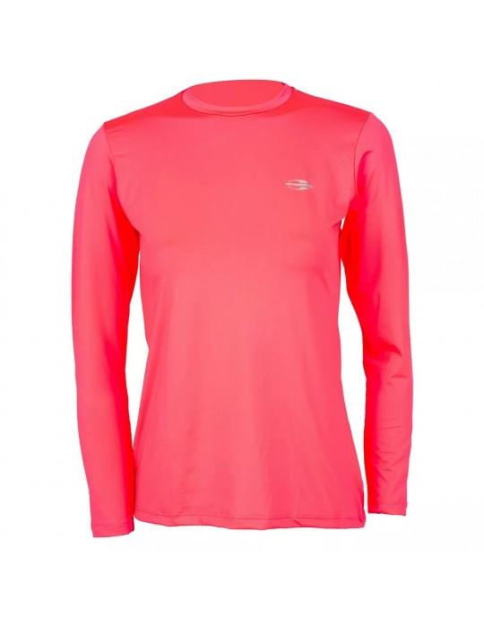 Camisa UV Dry Action Rosa Feminina Mormaii