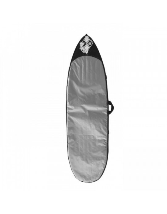 "Capa Refletiva Para Prancha de Surf Fish 5'10"" - Rubber Sticky | Prancharia"