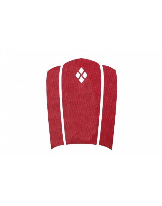 Deck Frontal Vermelho para pranchas Surf 3 partes Prancharia