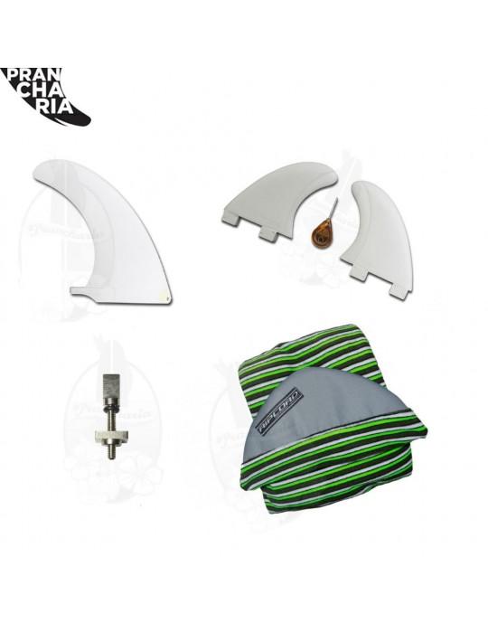 Kit Capa Toalha - Quilha Central - Estabilizadores - Chave de quilha - Parafuso de Quilha Central | Prancharia