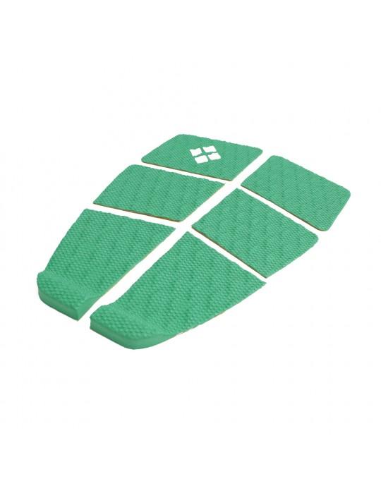 Deck Surf 6 Partes Rubber Sticky Verde | Prancharia
