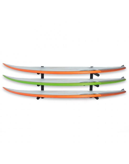 Rack Para 3 Pranchas de Surf - Horizontal | Prancharia
