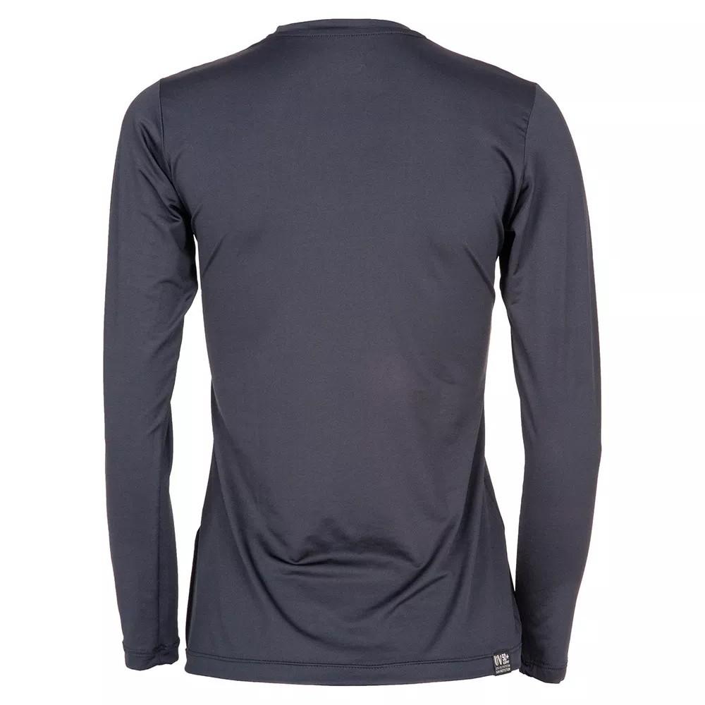 Camisa UV Dry Action Feminina Preta Mormaii  69eca9d4f80