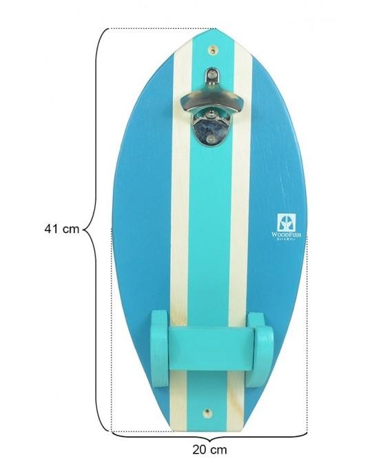 Abridor de Garrafas de Parede do Surf