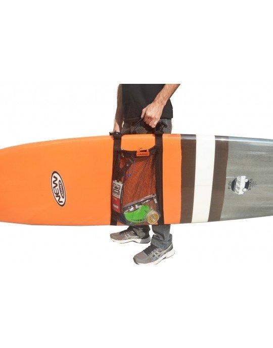 Alça de ombro com bolsa para Prancha de Surf, Longboard ou Bodyboard