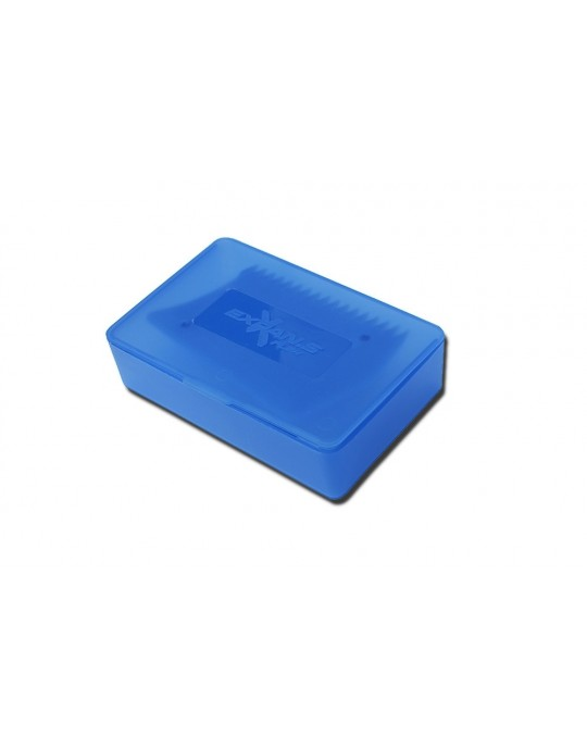 Box para parafina com raspador Expans azul