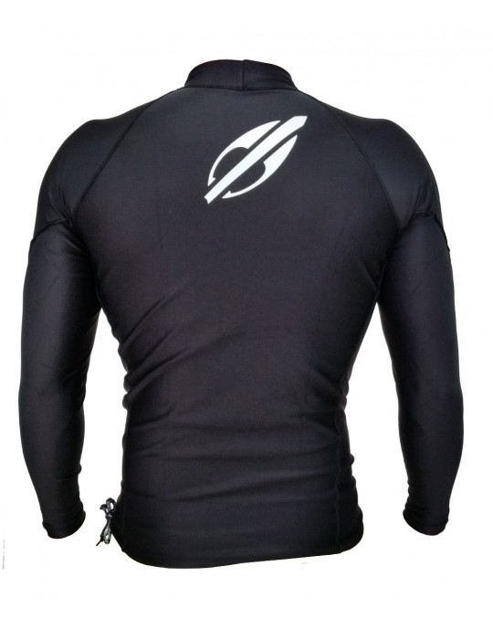 Camisa Lycra Manga Longa Extra Line Mormaii UV50+ Preto