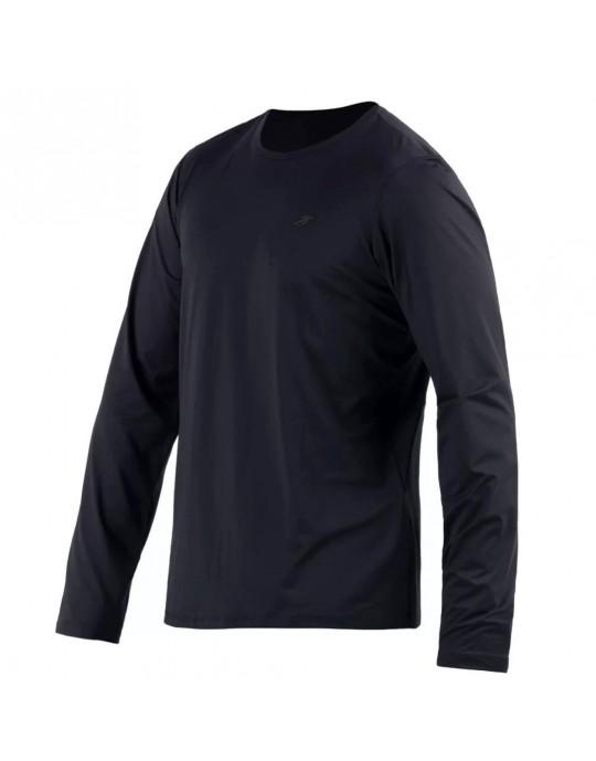 Camisa Manga Longa Dry Action 3a uv Mormaii Masculino - Preto
