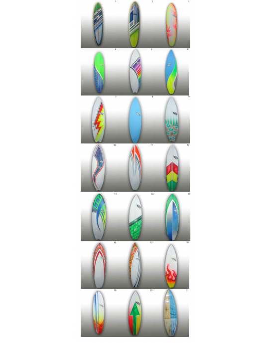 Prancha de Surf Nova - Ripwave - Key Ring - Fabricação em 20 dias