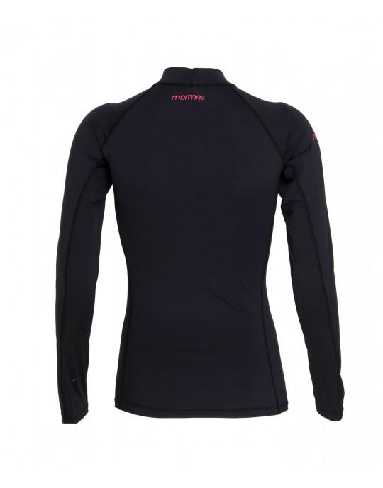 Camiseta Mormaii Lycra Diva 6a UV Core Preta