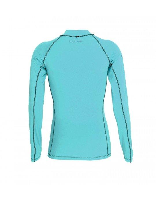 Camiseta Mormaii Lycra Diva 6A UV Core Azul Claro