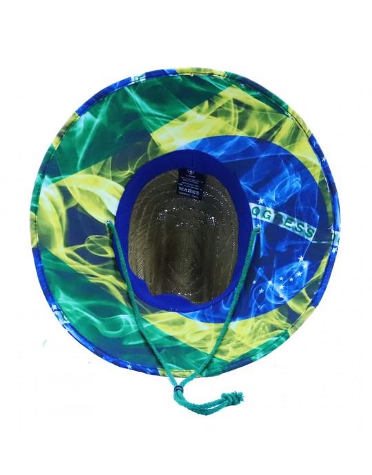Chapéu Palha Surf Lord Acabamento Brasil