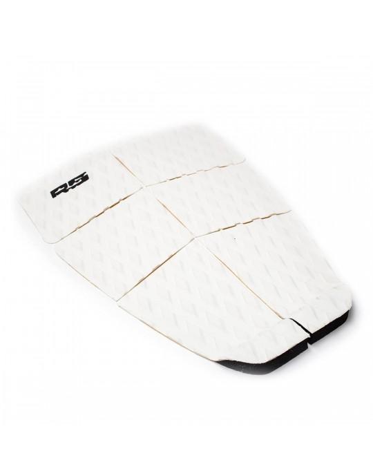 Deck Surf 6 Partes LongBoard Rubber Sticky Branco