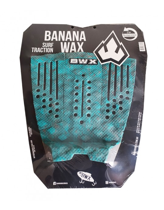 Deck Surf Banana Wax Thermo-Fresado Verde 3 Partes