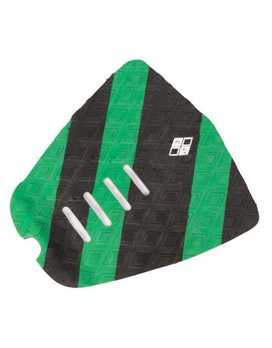 Deck para pranchas de surf verde e preto Rubber sticky
