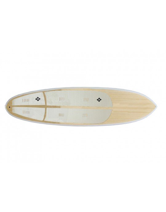 Deck prancha Stand Up Paddle - Branco