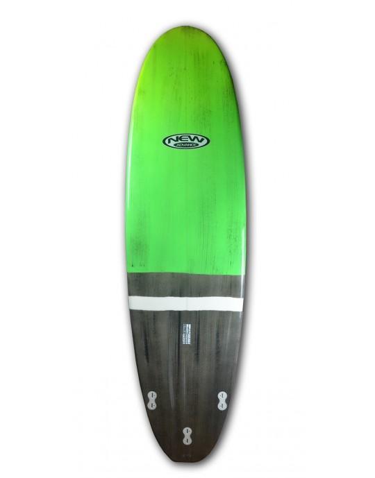 Prancha de Surf Funboard New Advance Verde - Fabricação em 30 Dias