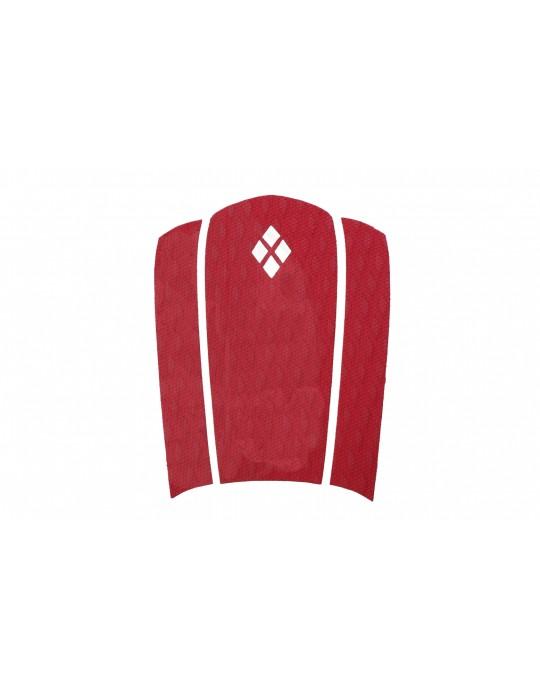 Kit Decks Surf Frontal + Traseiro 3 Partes Rubber Sticky Vermelho