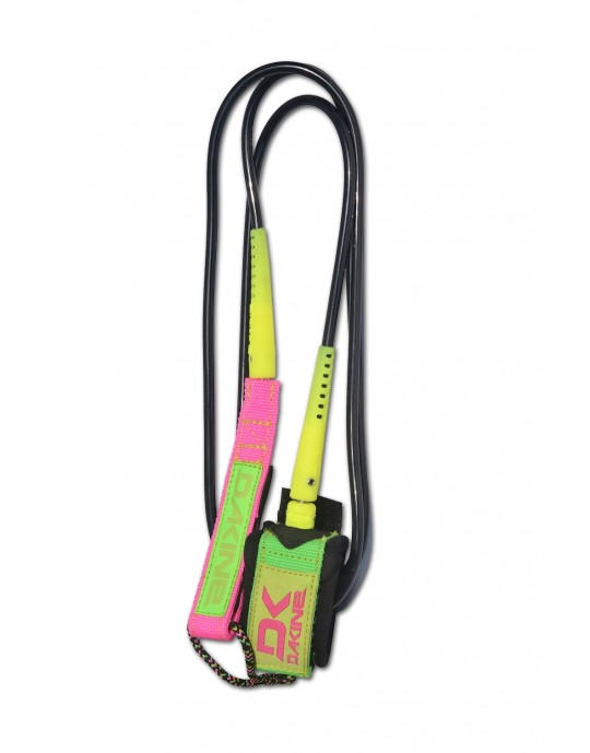 Leash Dakine - Kainui - Team - 6' x 1/4 - Preto/ Pink