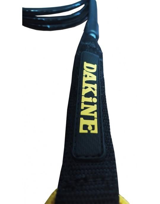 Leash Dakine  - Longboard Calf Leash - 9' x 6,5 mm Panturrilha  - Preto