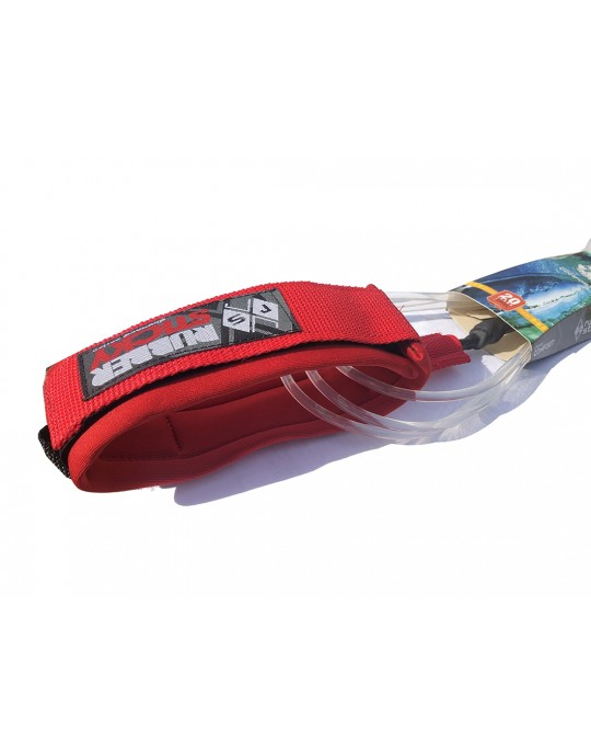Leash Longboard Rubber Sticky Confort Panturrilha 10'0