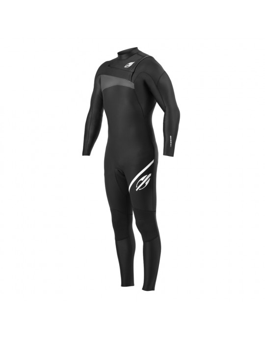 Long John Mormaii 2.2 mm Ultra Skin Chestzip Preto