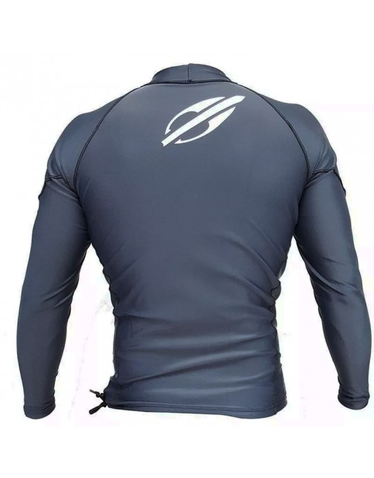 Camisa Lycra Manga Longa Extra Line Mormaii UV50+ Cinza