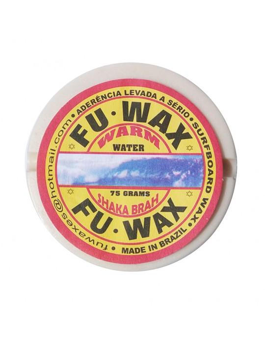 Kit com 5 Parafinas Fu wax - Água Morna