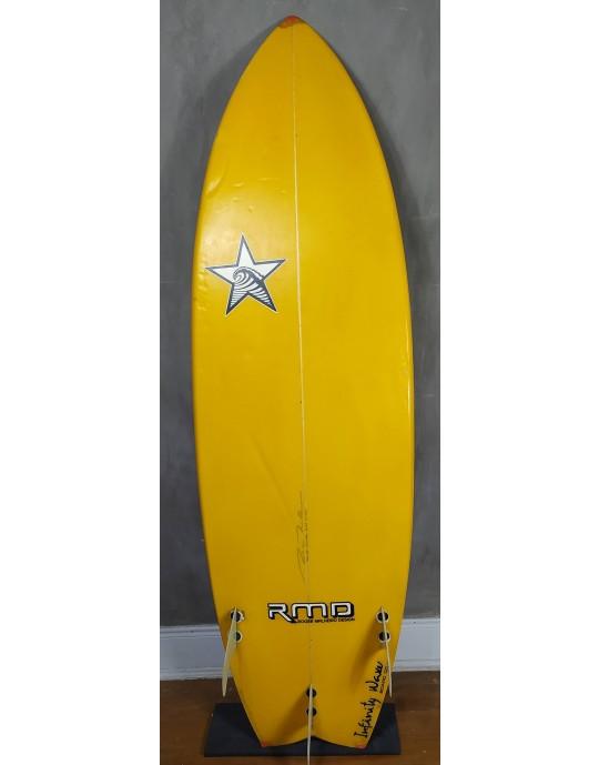 Prancha de Surf Fish Roger Malheiro 6'2 Seminova