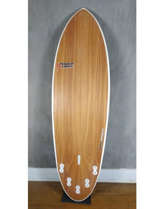 Prancha de Surf Power Light Round Fish 6'2 Seminova