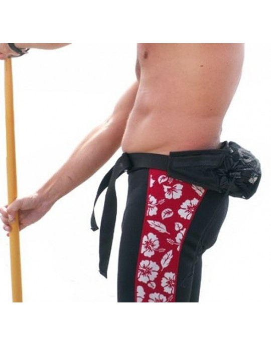 Alca de ombro para prancha stand up com bolsa de cintura