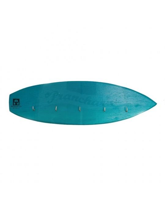 Pranchinha Chaveiro De Surf Azul