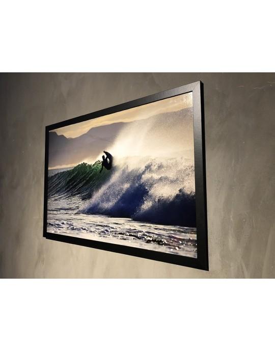 Quadro Decorativo Surfista Jeffreys Bay