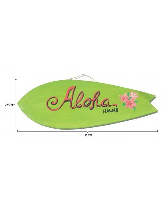 Pranchinha Decorativa Aloha Verde Flor