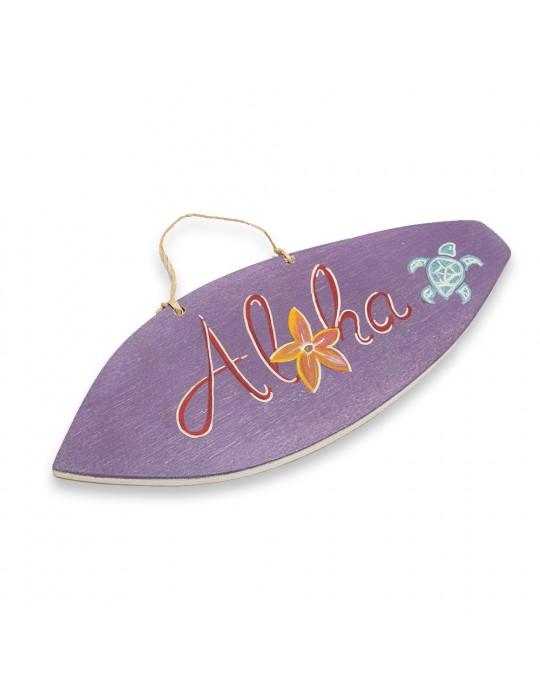 Quadro Surf  Tartaruga Aloha