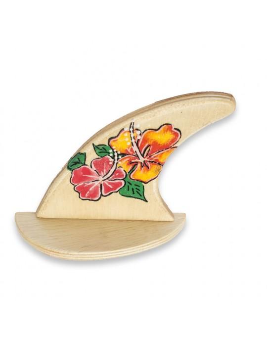 Quilha Decorativa 2 Hibiscos